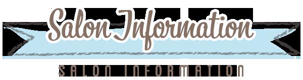 salon information title